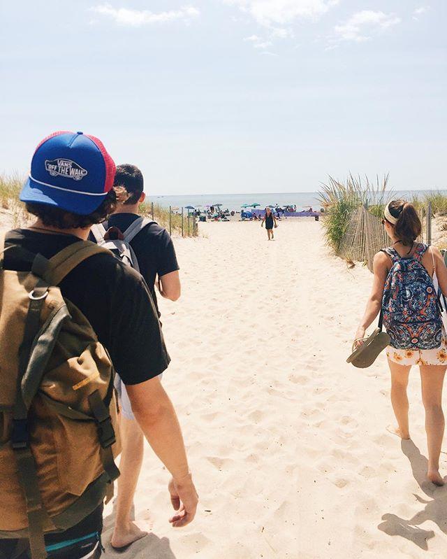 One last beach day of the season