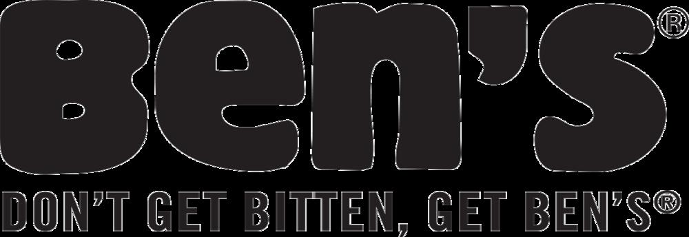 Don't get bitten, get Ben's®!