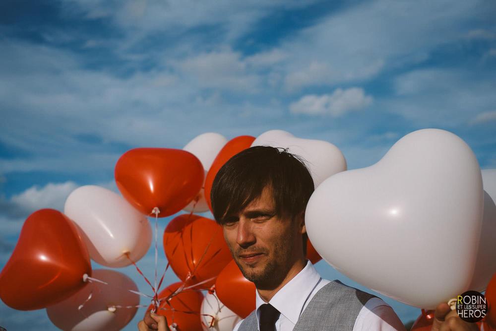 Photographe Mariage Bourgogne Ballons / Photographer Wedding Bur