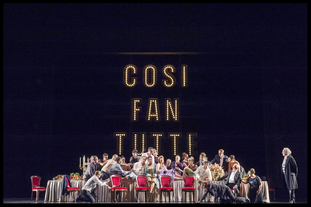 Così fan tutte  Royal Opera House Covent Garden  September & October 2016