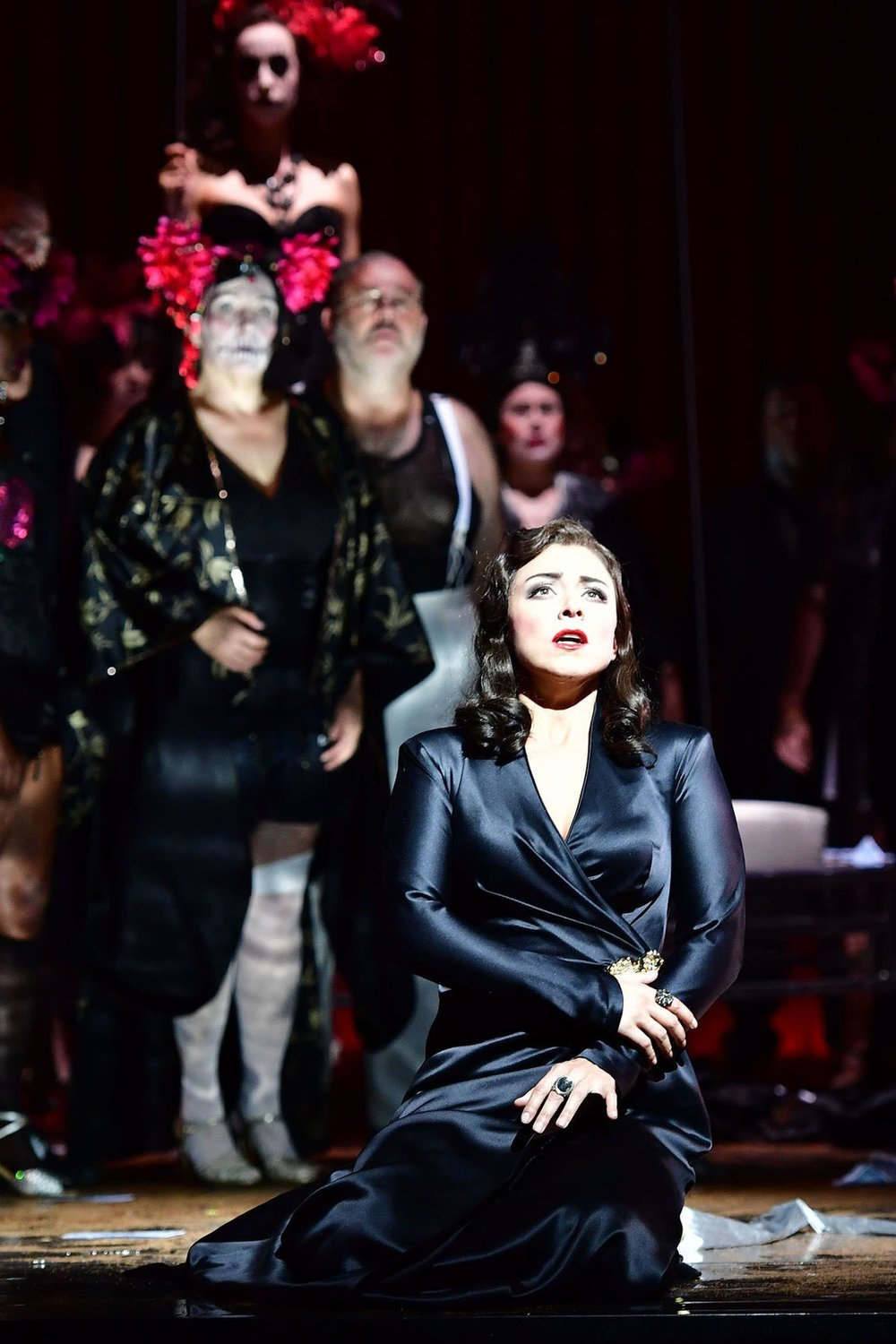 Violetta,  La traviata    Theater Basel  January 29; February 4, 9, 17, 25 2018   new production