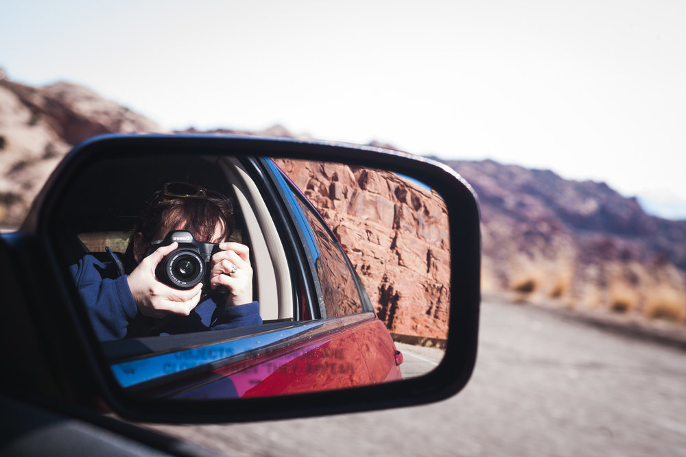 Self-portrait - Arches National Park, Utah