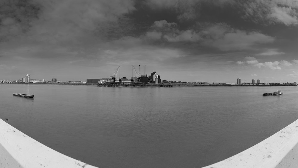 "River Prospect - Tate & Lyle from Woolwich Arsena l  51 ° 29'41.8 "" N 0 ° 02'57.7""E 120°"