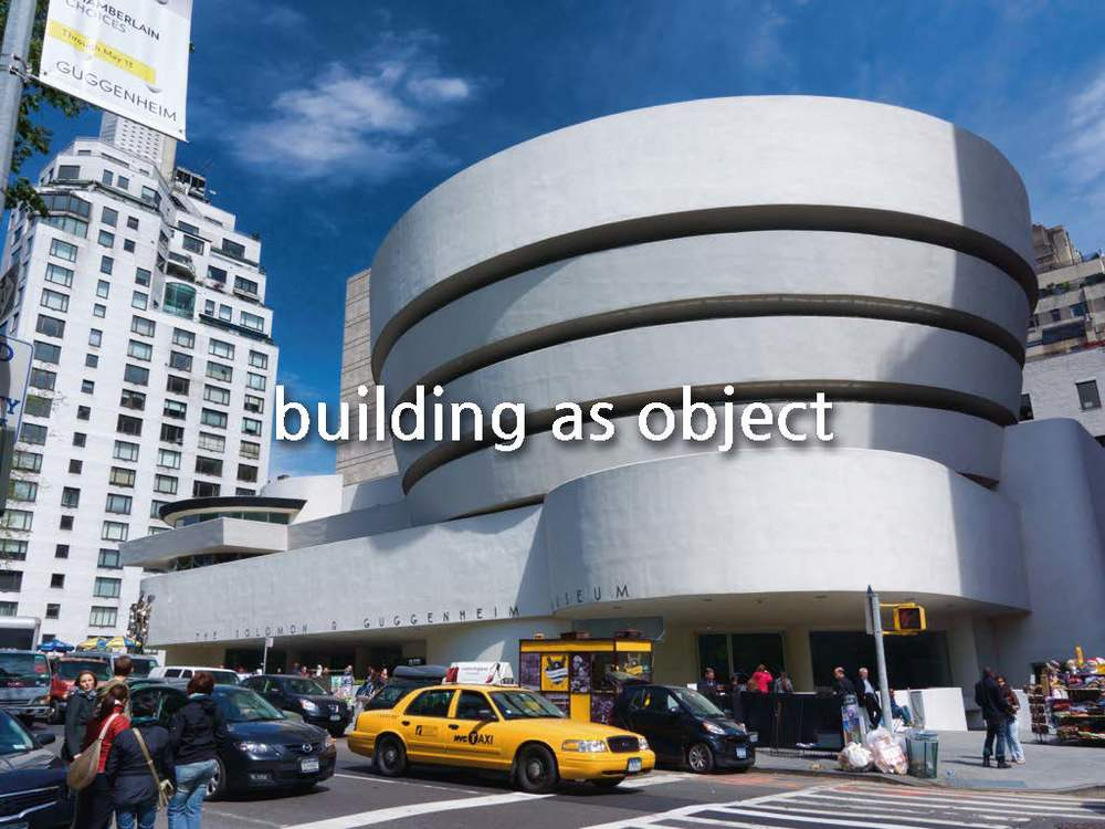The 20th century represented a significant shift in the form of our cultural spaces. Buildings no longer were content to be a neutral vessel for the objects, they began to become objects in their own right. Iconic forms that would echo the iconic works that were housed within them.