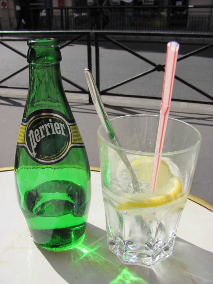 Hydrate often, especially when it is hot as hell, Perrier lemon slice is a must...