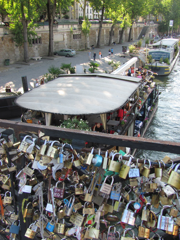 Believe in love. But put a lock on it... just in case...