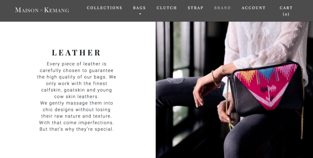 Maison Kemang messaging story brand marketing
