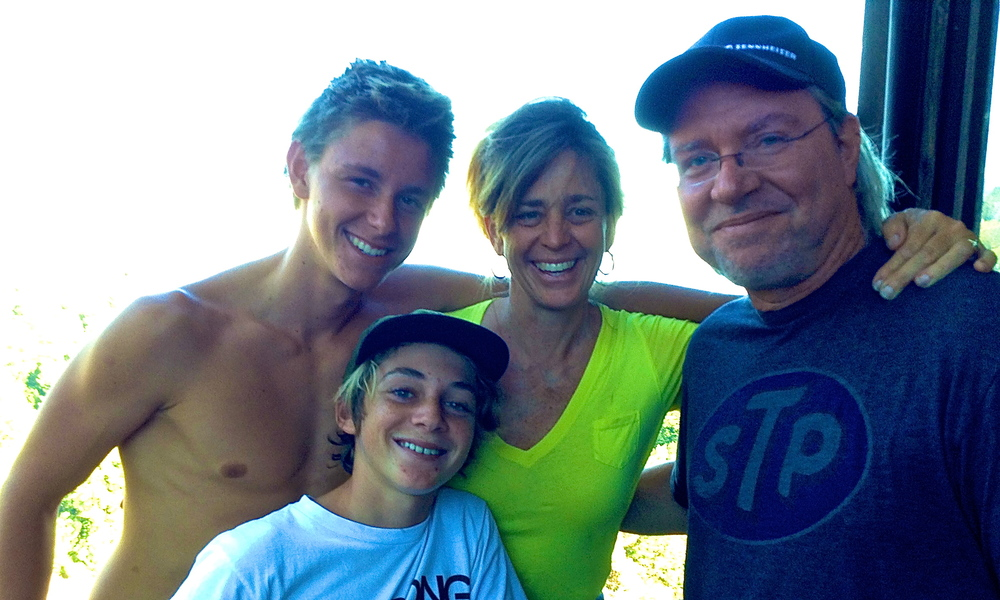 "The Cochran Clan getting ""family Time"" together up in Big Sur California"