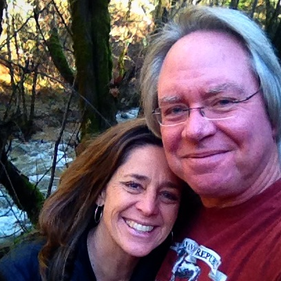 Roy & Christine -taking care of our hearts up in Redding, CA