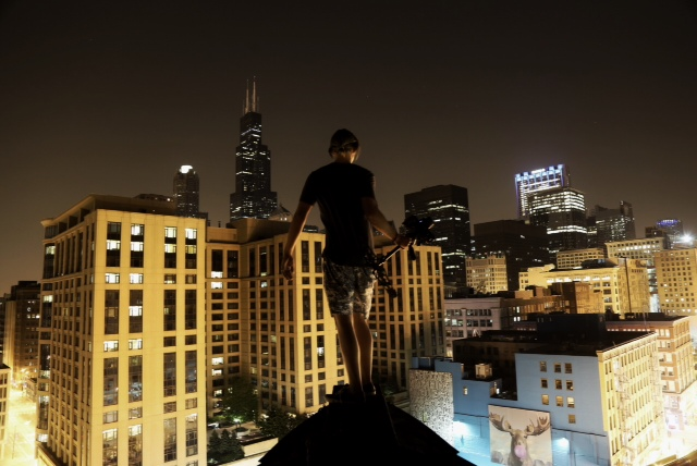 "Oh yes, the ""roof top shots"". These are just something my sons enjoy doing."