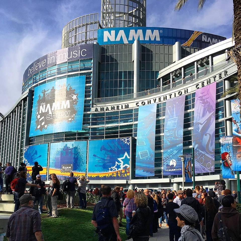 2016 NAMM Show . The largest instrument / music industry show in the country. This year I was able to go with  Joe Urquhart, Jared Kneale, Paul Clark  & my son  Trevor . My phone informed me we had walked over 5 miles the first day! One of my favorite places to connect all year and treasure hunt life-giving opportunities.