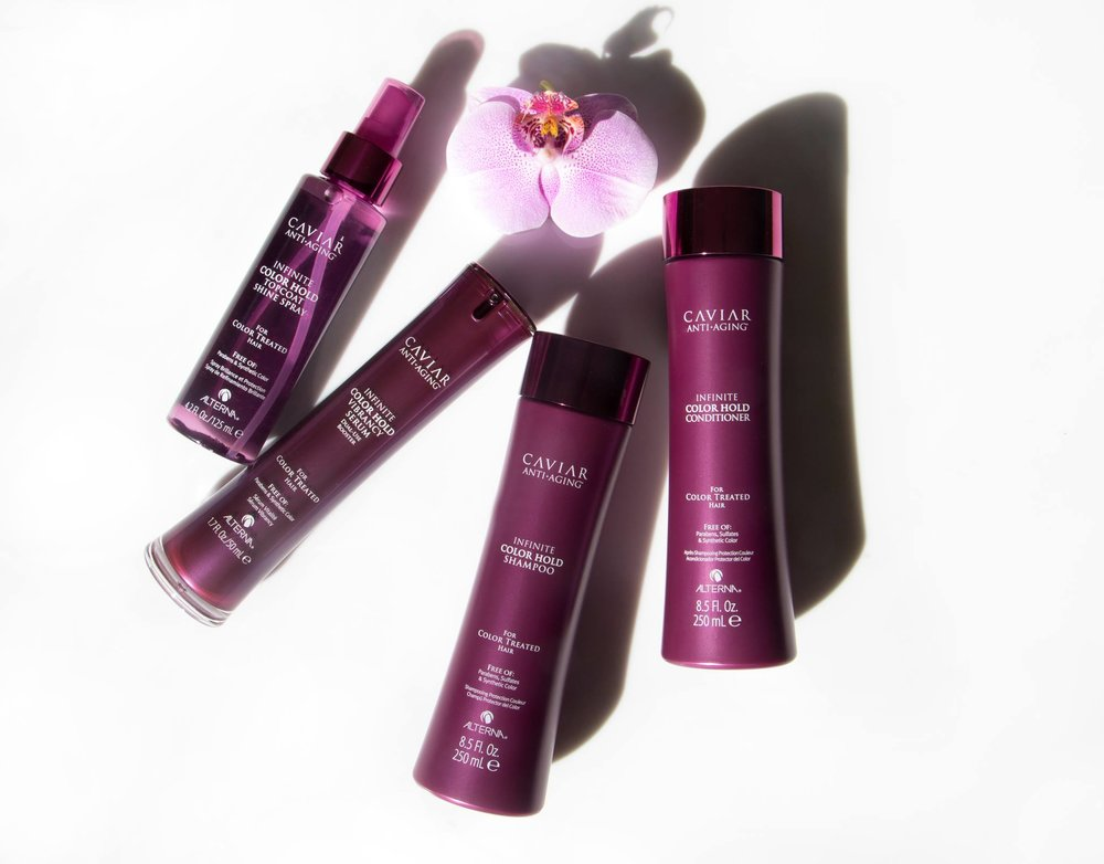 Introducing the Caviar infinite colour hold line from alterna haircare