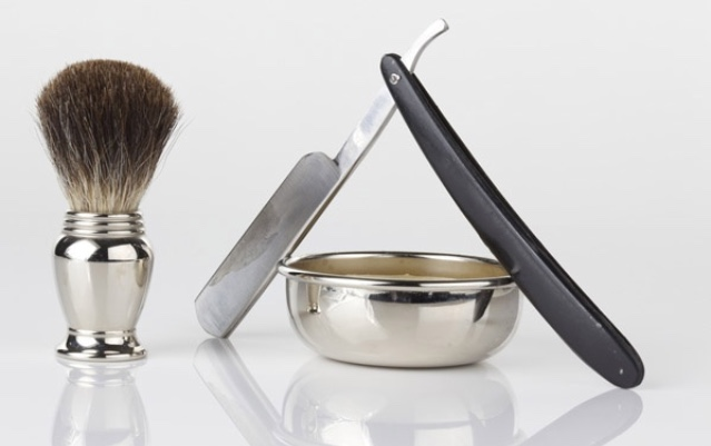 Our Trained Barbers are proud to offer Hot Shaves