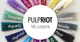 Proudly offering pulp riot fashion colors