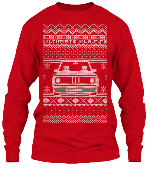 Ugly Xmas Sweater Tees still available! Click here to order