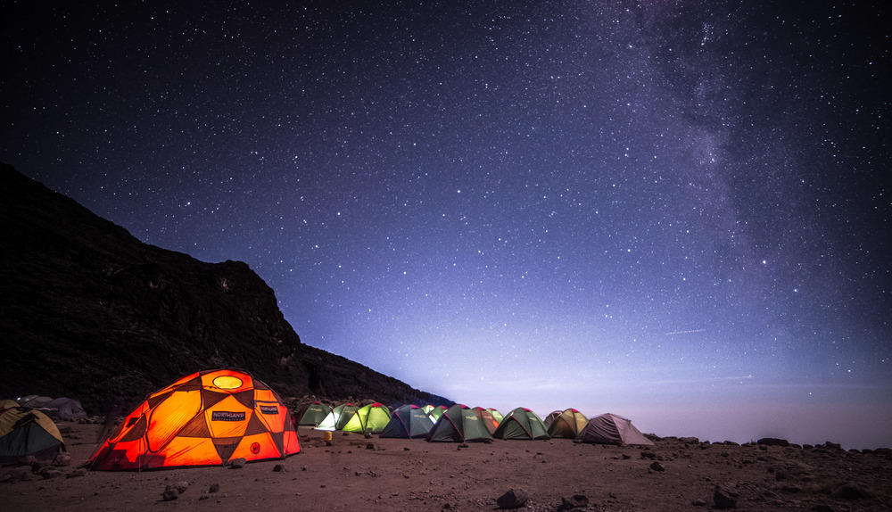 Barranco Camp, Mt. Kilimanjaro - Photo Credit:  Abhimanyu