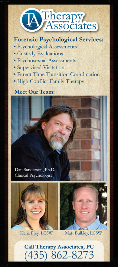 Forensic Psychological Services at Therapy Associates in St. George, Utah