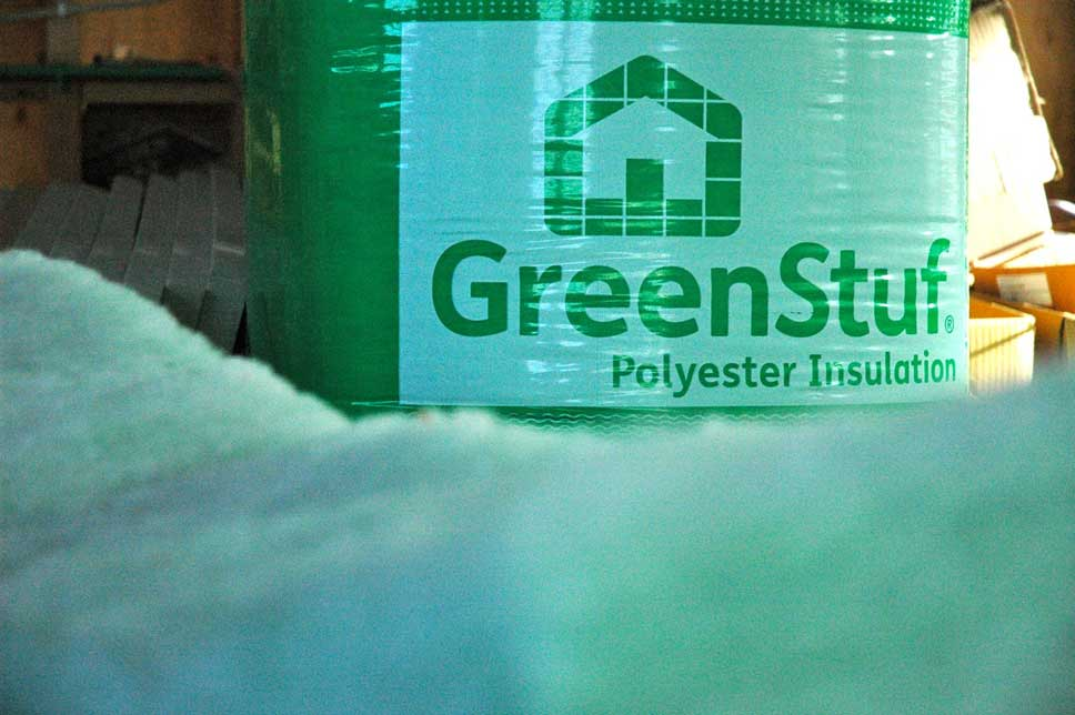 All insulation in the house is Autex's GreenStuf, chosen for its performance and environmental credentials.