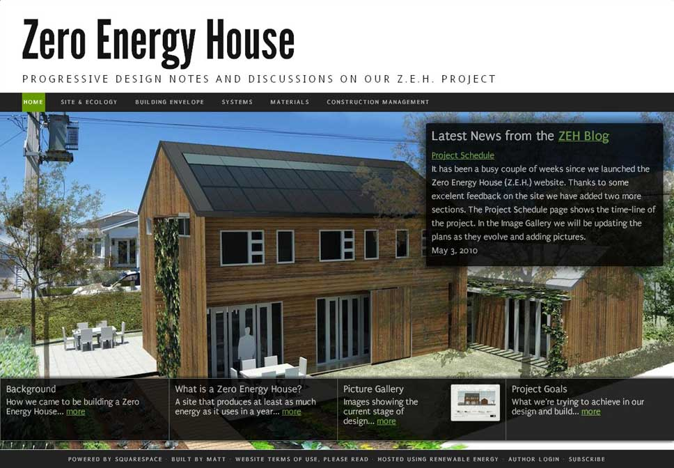 house building website