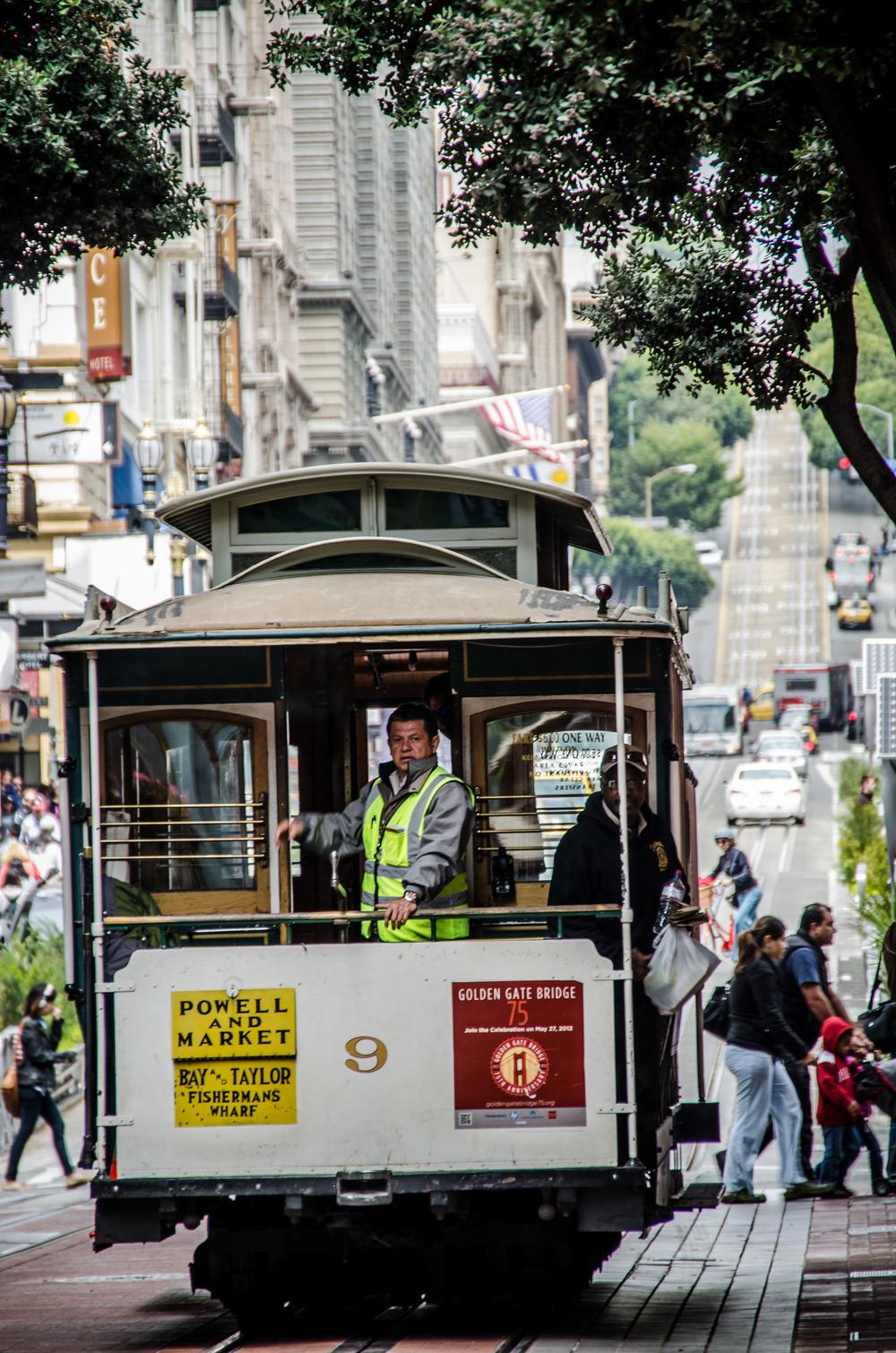 Powell & Market, SF 2012