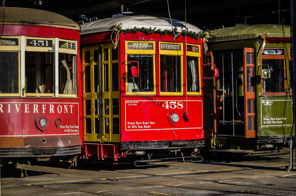 streetcars, New Orleans