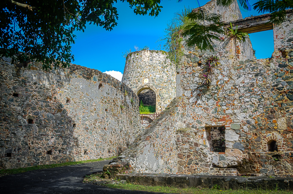 Anneberg Sugar Mill ruins, Virgin Islands National Park 11/13