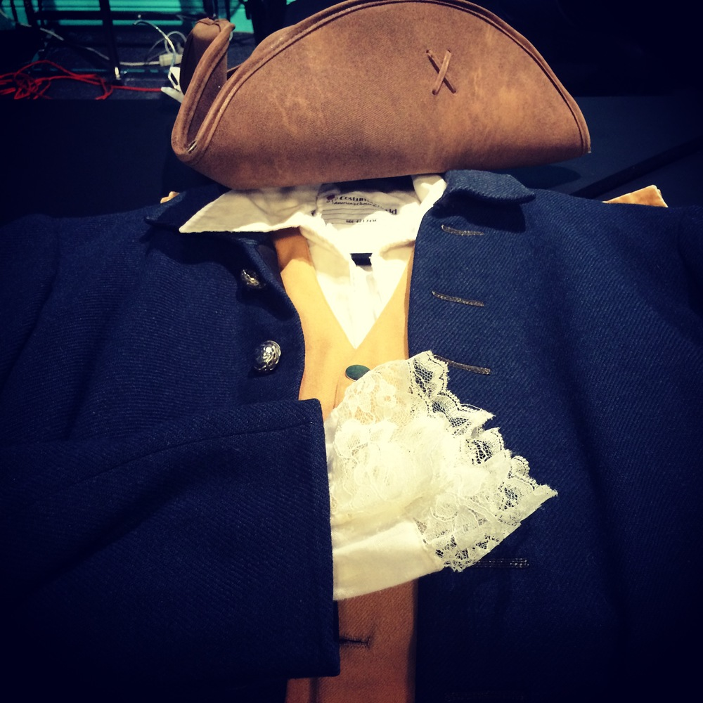 costume for Paul Revere