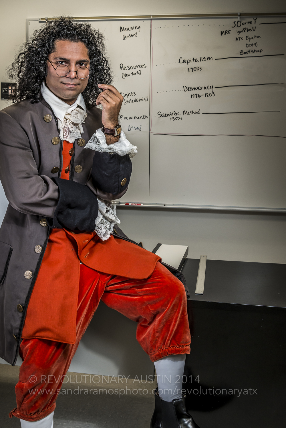 Bijoy Goswami as Benjamin Franklin