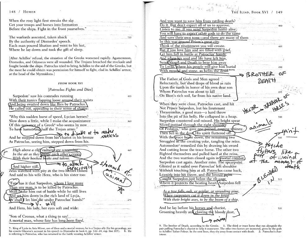 Ap English Literature  Fall  Weeks   Kubus English Annotation Jpg