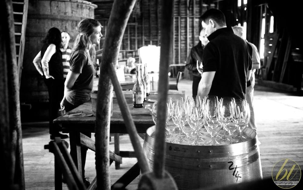 tasting away @ yeringberg winery