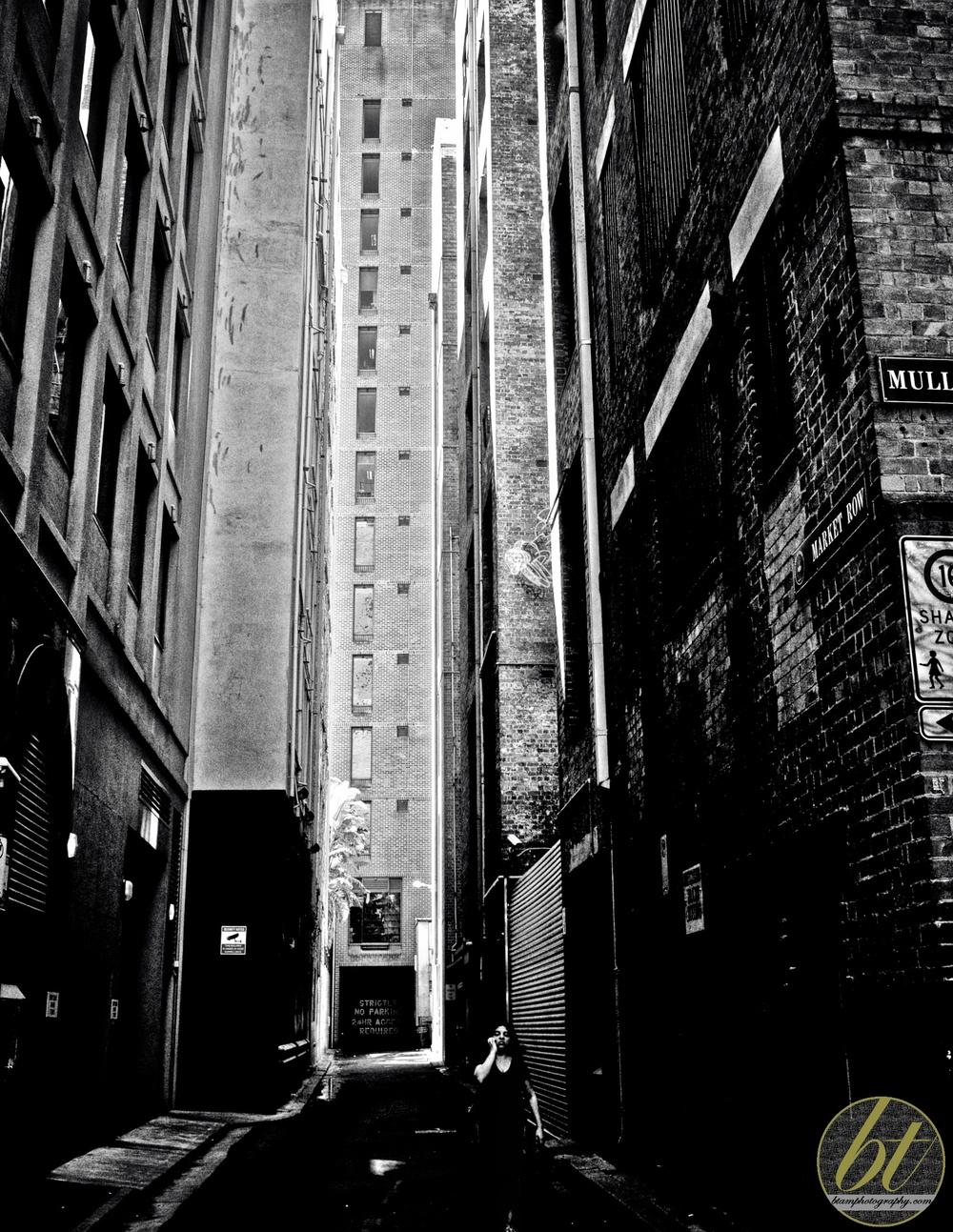 Market Row alleyway