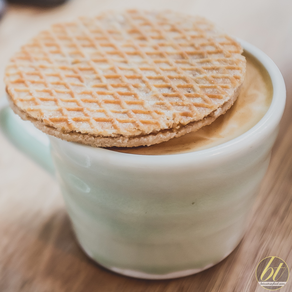 Barrio Collective Coffee Braddon Stroopwafel