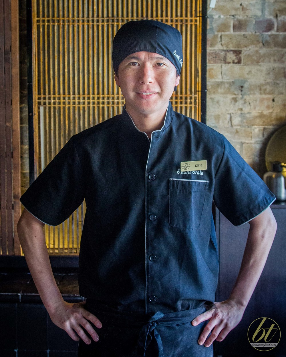 Sushi Train Neutral Bay's owner, Chef Ken