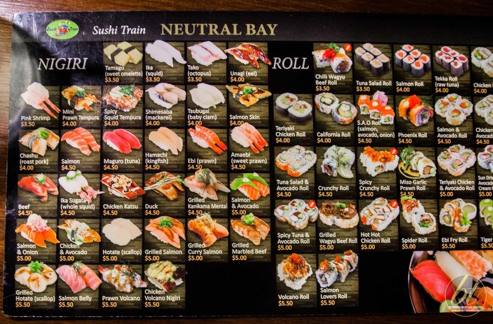 So much sushi!