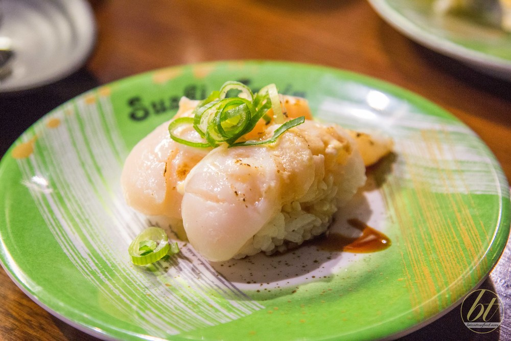 Grilled Scallop Nigiri ($5.50)