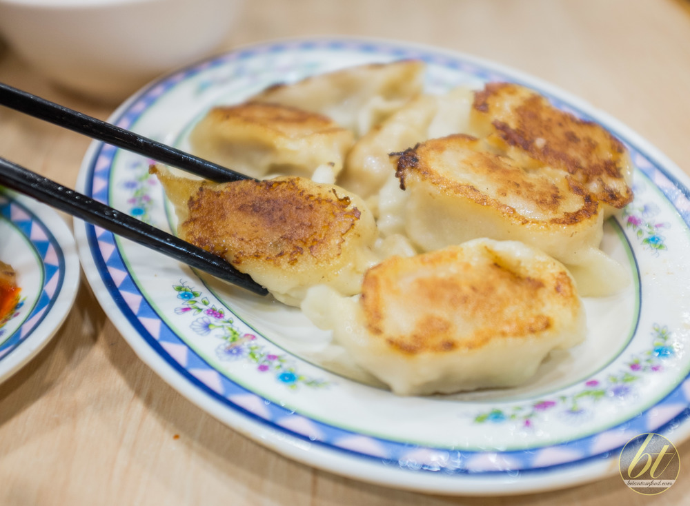 Pan Fried Pork Dumplings ($9.80 for 12pc)