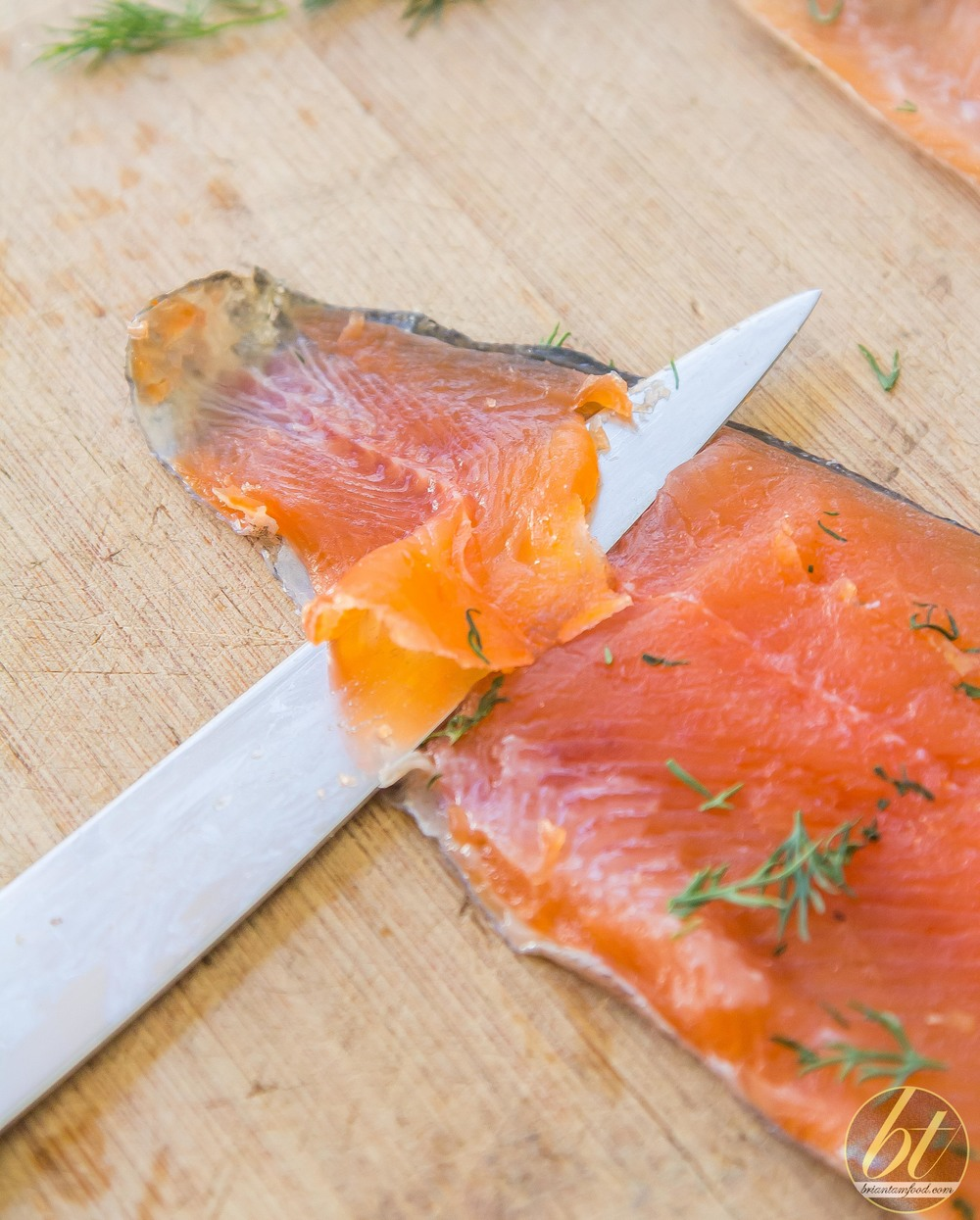 Easy Trout Gravlax with Lemon and Dill