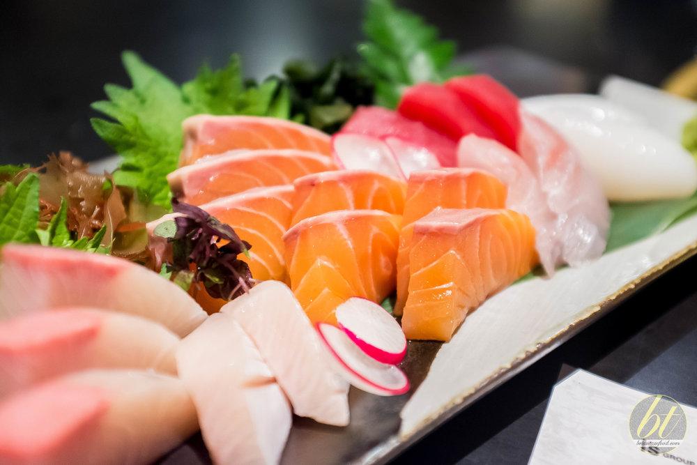 Special Sashimi Selection ($43.90)