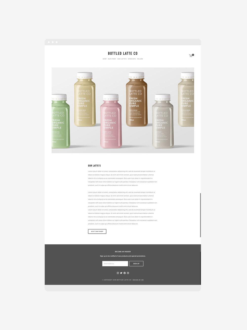 Bottled-Latte-Co-Superfood-Lattes-Portland-Website-Design-Squarespace-Heather-Maehr
