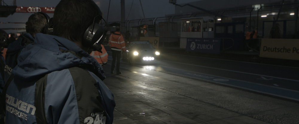 BMCC ProRes 422 frame grab - ungraded  A pitstop at night