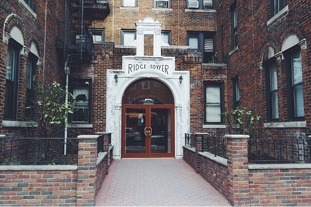 our apartment building in Bay Ridge, Brooklyn