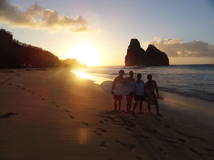Fernando De Noronha - our first stop after the Atlantic crossing, off the coats of Brazil