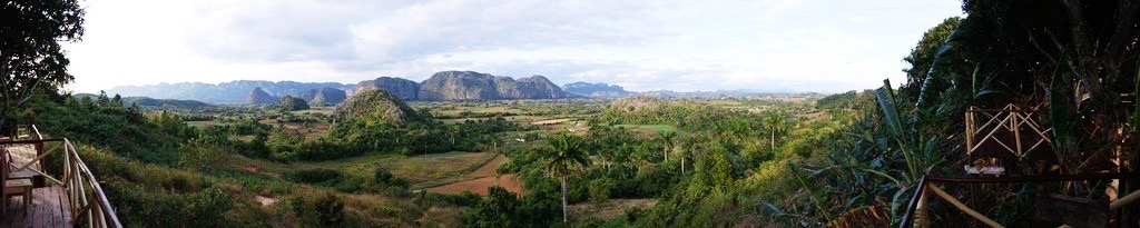 pano from Balcon del Valle restaurant