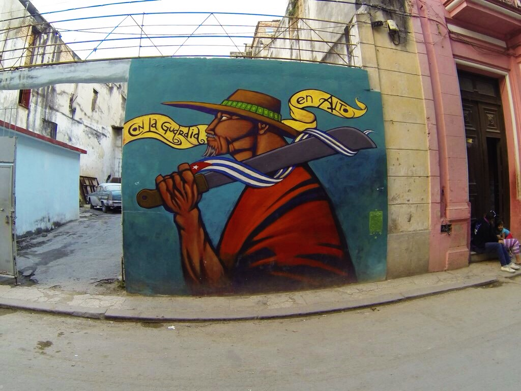 street art on Old Havana