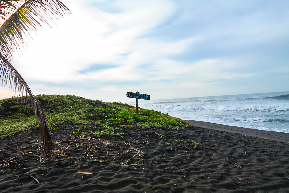 neighbouring plot of land for sale - you too can share in this surfing paradise!