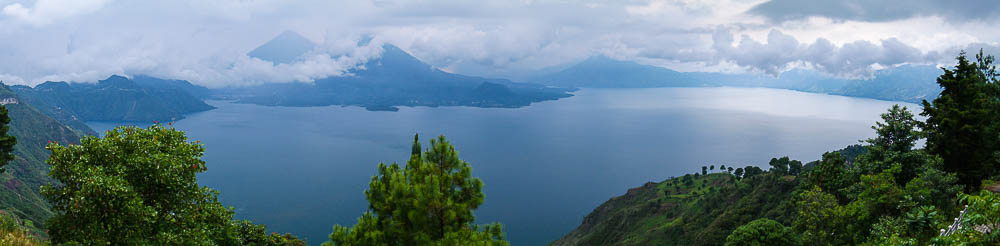 our first full view of Lake Atitlan
