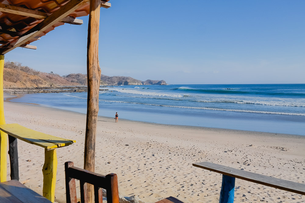 one of the more secluded surf spots just north of San Juan del Sur