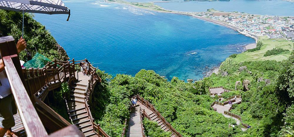 view from Seongsan Ilchulbong - Sunrise Peak