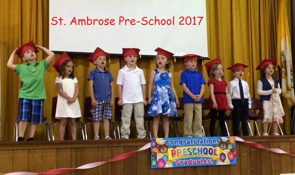 St. Ambrose Pre-School Graduation 2017