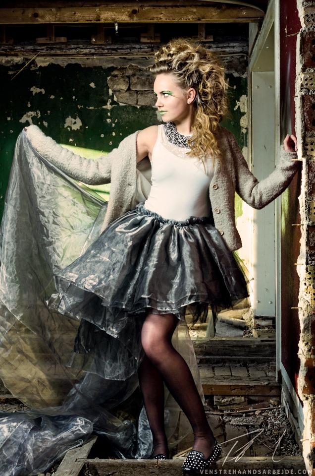 Model: Cecilie  //  Foto & redigering: Peter L. Nielsen, Venstrehaandsarbejde.com